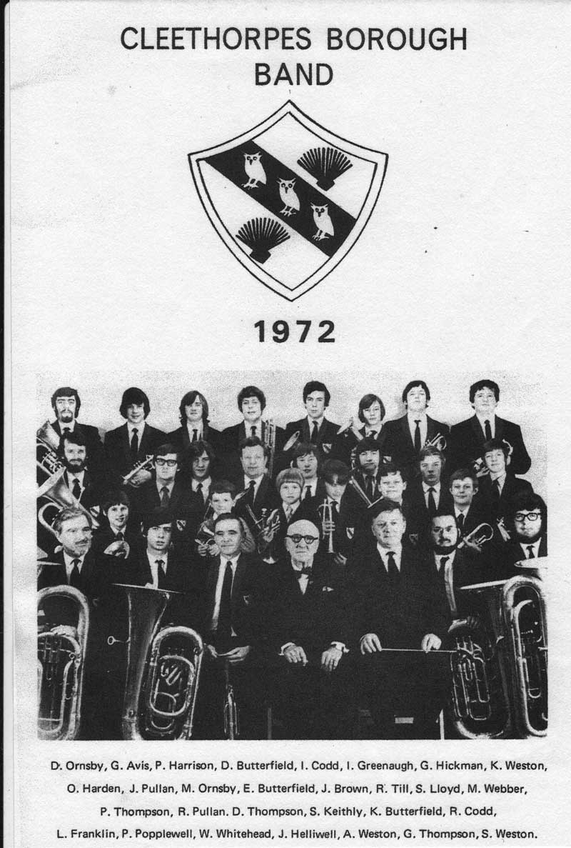 Cleethorpes Borough Band 1972