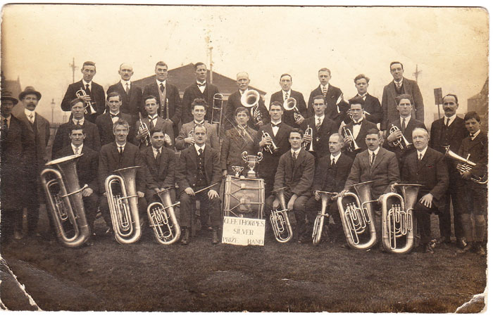Historical picture of band