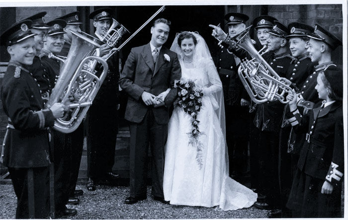 The marriage of John and Noreen Lofthouse